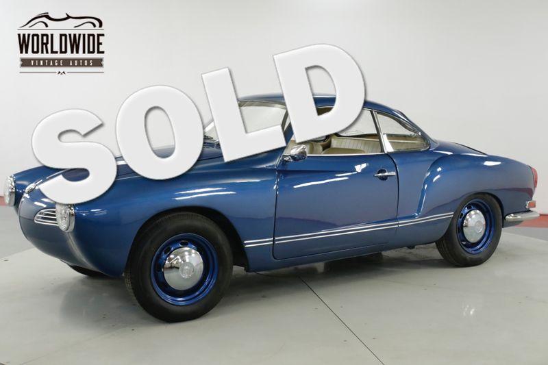 1969 Volkswagen KARMANN GHIA BEAUTIFUL 1500CC 4-SPEED MUST SEE | Denver, CO | Worldwide Vintage Autos
