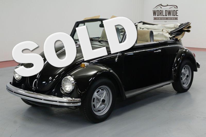 1969 Volkswagen BEETLE EXTENSIVE RESTORATION. CONVERTIBLE. COLLECTOR. | Denver, CO | Worldwide Vintage Autos