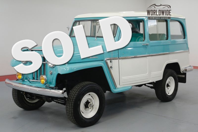 1969 Willys WAGON FULLY RESTORED! RARE! V8! STUNNING. 4X4. | Denver, CO | Worldwide Vintage Autos