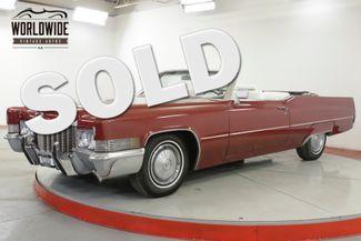 1970 Cadillac DEVILLE CONVERTIBLE. 500V8 AUTO. NEW PAINT & INTERIOR. PS | Denver, CO | Worldwide Vintage Autos in Denver CO