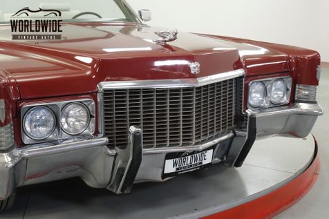 1970 Cadillac DEVILLE CONVERTIBLE. 500V8 AUTO. NEW PAINT & INTERIOR. PS | Denver, CO | Worldwide Vintage Autos in Denver, CO