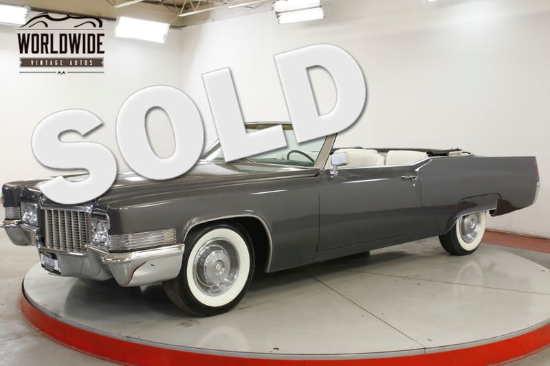 1970 Cadillac DEVILLE 472 POWER TOP PS PB FRONT DISC  | Denver, CO | Worldwide Vintage Autos