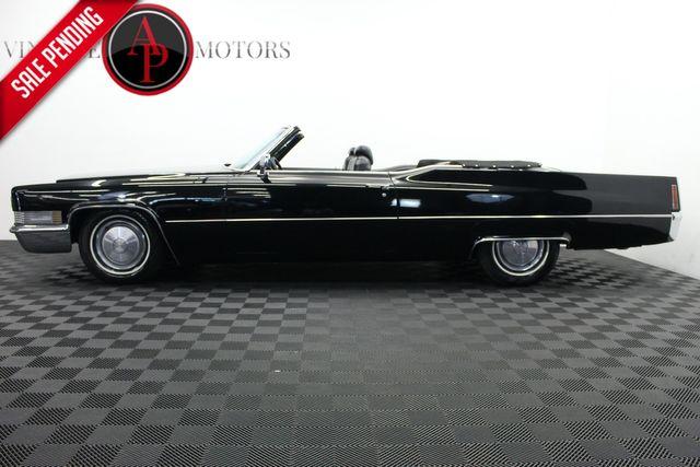 1970 Cadillac DEVILLE TRIPLE BLACK CONVERTIBLE