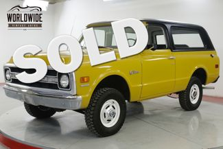 1970 Chevrolet BLAZER  TIME CAPSULE EARLY BLAZER REMOVABLE TOP PS | Denver, CO | Worldwide Vintage Autos in Denver CO