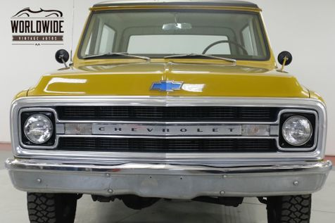 1970 Chevrolet BLAZER  TIME CAPSULE EARLY BLAZER REMOVABLE TOP PS | Denver, CO | Worldwide Vintage Autos in Denver, CO