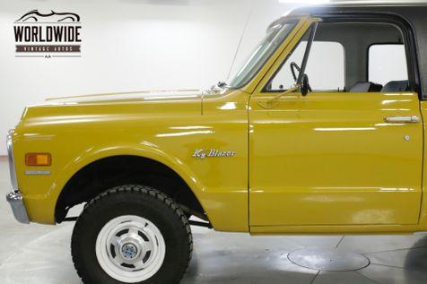 1970 Chevrolet BLAZER  TIME CAPSULE EARLY BLAZER REMOVABLE TOP PS | Denver, CO | Worldwide Vintage Autos in Denver, CO