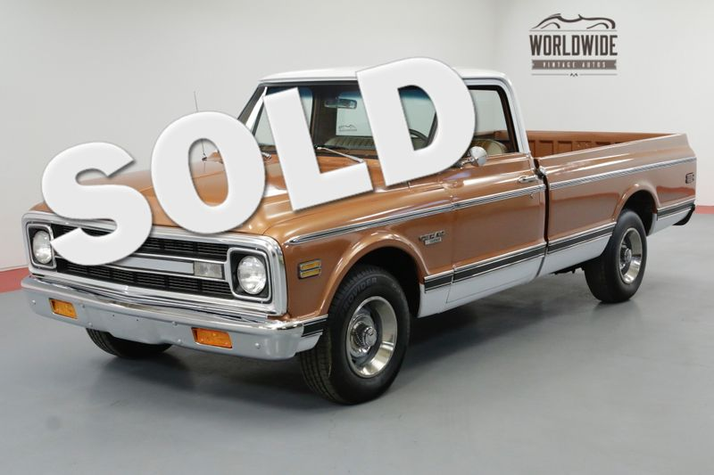 1970 Chevrolet C10 400CI V8 4-SPEED RESTORED. A/C CST PACKAGE | Denver, CO | Worldwide Vintage Autos