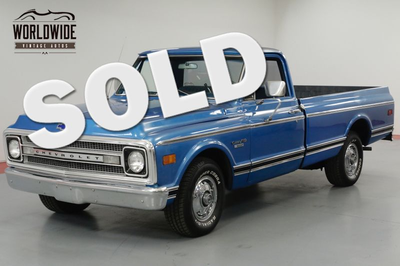 1970 Chevrolet C10 VERY CLEAN FRAME  | Denver, CO | Worldwide Vintage Autos