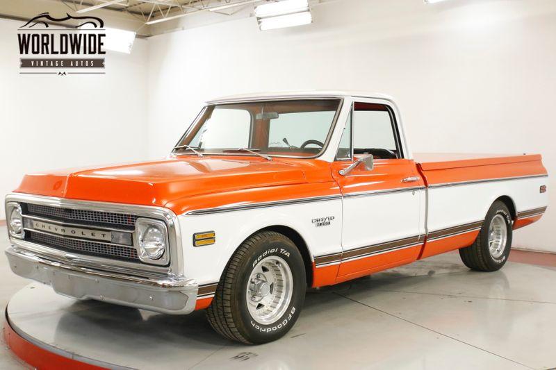 1970 Chevrolet C10 REBUILT 350 PS PB CHROME AUTO   Denver, CO   Worldwide Vintage Autos