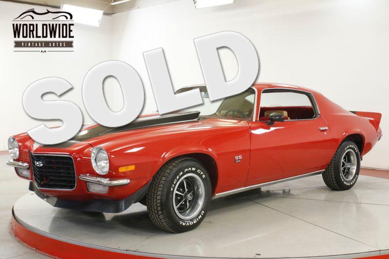 1970 Chevrolet CAMARO SS  SPLIT BUMPER. 402 BIG BLOCK V8 SS 4SPD PS | Denver, CO | Worldwide Vintage Autos