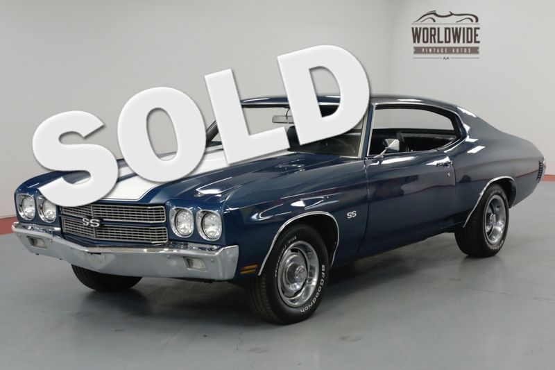 1970 Chevrolet CHEVELLE SS TRIBUTE. 350 V8, CONSOLE SHIFT, PS, PB  | Denver, CO | Worldwide Vintage Autos