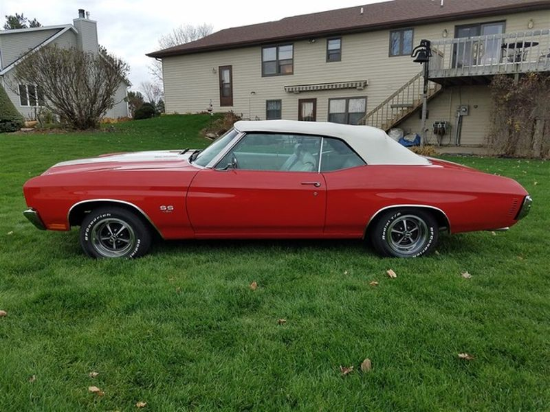 1970 Chevrolet Chevelle 454 4 speed Convertible in Rowlett, Texas