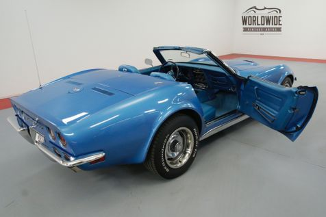 1970 Chevrolet CORVETTE  454 4 SPEED MANUAL A/C BIG BLOCK! | Denver, CO | Worldwide Vintage Autos in Denver, CO