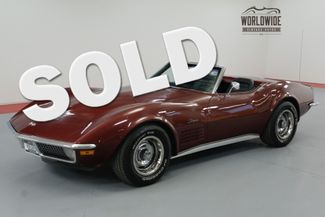 1970 Chevrolet CORVETTE  NUMBERS MATCHING 350/300HP V8! AUTOMATIC. | Denver, CO | Worldwide Vintage Autos in Denver CO