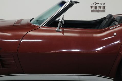 1970 Chevrolet CORVETTE  NUMBERS MATCHING 350/300HP V8! AUTOMATIC. | Denver, CO | Worldwide Vintage Autos in Denver, CO