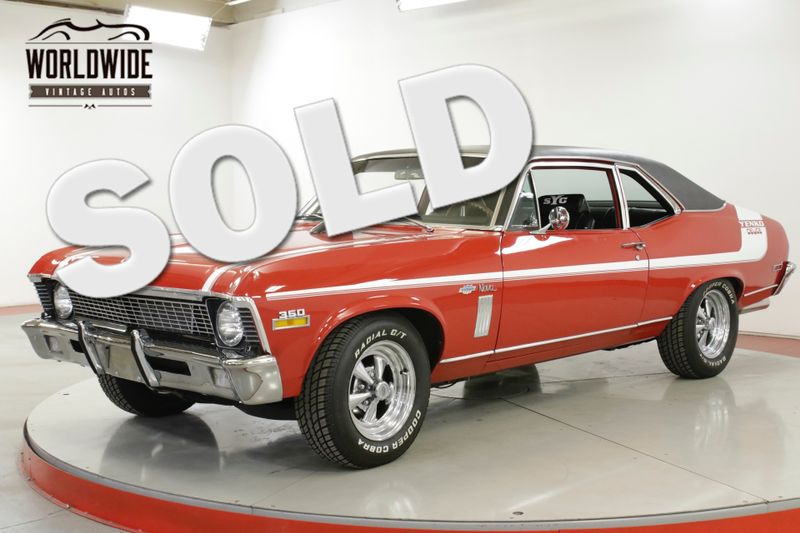 1970 Chevrolet NOVA YENKO TRIBUTE DISC V8 | Denver, CO | Worldwide Vintage Autos