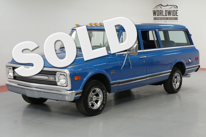 1970 Chevrolet SUBURBAN RESTORED HOT ROD 1 OWNER 383 HEADERS PS PB | Denver, CO | Worldwide Vintage Autos