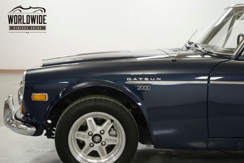 1970 Datsun 2000 ROADSTER RARE 5-SPEED BUCKET SEATS ALLOY WHEELS | Denver, CO | Worldwide Vintage Autos in Denver, CO