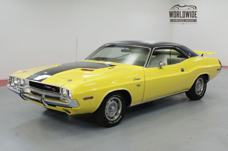 1970 Dodge CHALLENGER 1970 DODGE CHALLENGER R/T TRIBUTE 440 AUTOMATIC | Denver, CO | Worldwide Vintage Autos