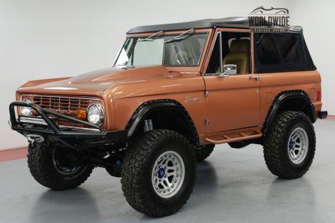 1970 Ford BRONCO HIGH-END BUILD, 427CI 590HP OVER $175K INVESTED!   Denver, CO   Worldwide Vintage Autos in Denver, CO