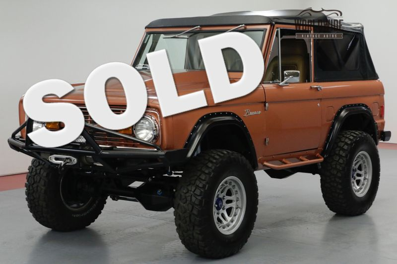 1970 Ford BRONCO HIGH-END BUILD, 427CI 590HP OVER $175K INVESTED!   Denver, CO   Worldwide Vintage Autos