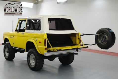 1970 Ford BRONCO CRATE 302 V8. LIFT. PS. PB. 4x4 CONVERTIBLE! | Denver, CO | Worldwide Vintage Autos in Denver, CO