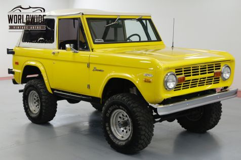 1970 Ford BRONCO CRATE 302 V8. LIFT. PS. PB. 4x4 CONVERTIBLE!   Denver, CO   Worldwide Vintage Autos in Denver, CO