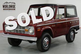 1970 Ford BRONCO 302V8. UNCUT. RESTORED! PS FACTORY HUBCAPS!  | Denver, CO | Worldwide Vintage Autos in Denver CO