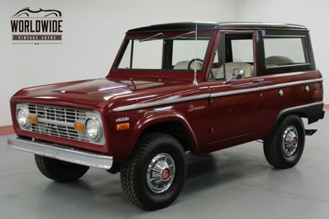 1970 Ford BRONCO 302V8. UNCUT. RESTORED! PS FACTORY HUBCAPS!  | Denver, CO | Worldwide Vintage Autos in Denver, CO