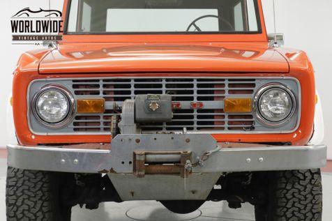 1970 Ford BRONCO 4x4 302 V8 RARE VISTA ORANGE LIFT NEW PAINT | Denver, CO | Worldwide Vintage Autos in Denver, CO
