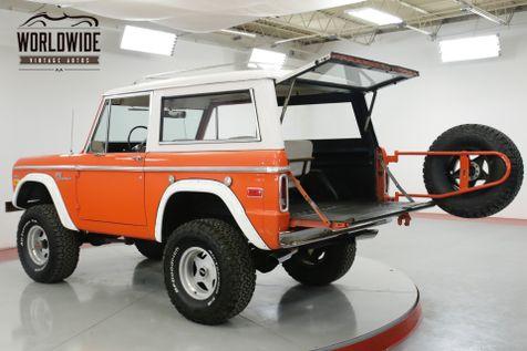 1970 Ford BRONCO 4x4 302 V8 RARE VISTA ORANGE LIFT NEW PAINT   Denver, CO   Worldwide Vintage Autos in Denver, CO