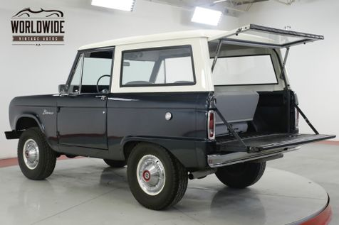 1970 Ford BRONCO RESTORED UNCUT RARE POWER STEERING NEW PAINT  | Denver, CO | Worldwide Vintage Autos in Denver, CO