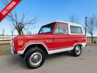 1970 Ford BRONCO 4X4 MINT RED BODY in Mustang, OK 73064