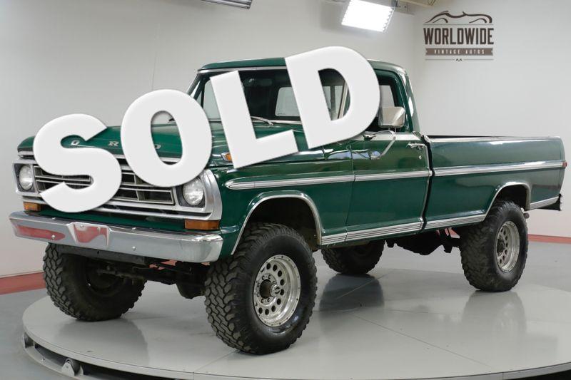 1970 Ford F250  HIGH BOY. RARE 4x4. 360 V8! 72K ORIGINAL MILES! | Denver, CO | Worldwide Vintage Autos
