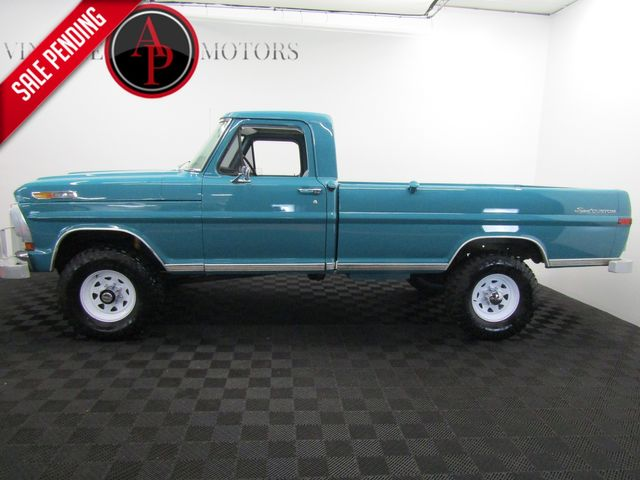 1970 Ford F250 HIGH BOY V8 SPORT CUSTOM