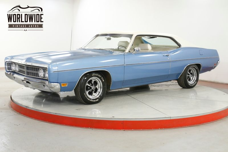 1970 Ford GALAXIE 500 DOCUMENTED 390 2 DR HARD TOP CRUISE O MATIC  | Denver, CO | Worldwide Vintage Autos