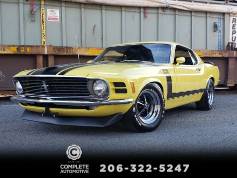 1970 Ford Mustang Boss 302 Fastback G-Code 46,000 Original Miles Rotisserie Restored 3k Miles in Seattle