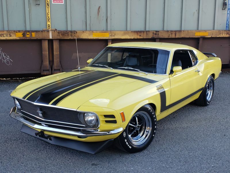 1970 Ford Mustang Boss 302 Fastback G-Code 46000 Original Miles Rotisserie Restored 3k Miles  city Washington  Complete Automotive  in Seattle, Washington
