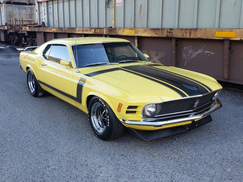 1970 Ford Mustang Boss 302 Fastback G-Code 46000 Original Miles Rotisserie Restored 3k Miles  city Washington  Complete Automotive  in Seattle, Washington