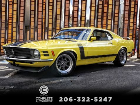 1970 Ford Mustang Boss 302 Fastback G-Code Rotisserie Restoration Parnelli Jones Autograph in Seattle