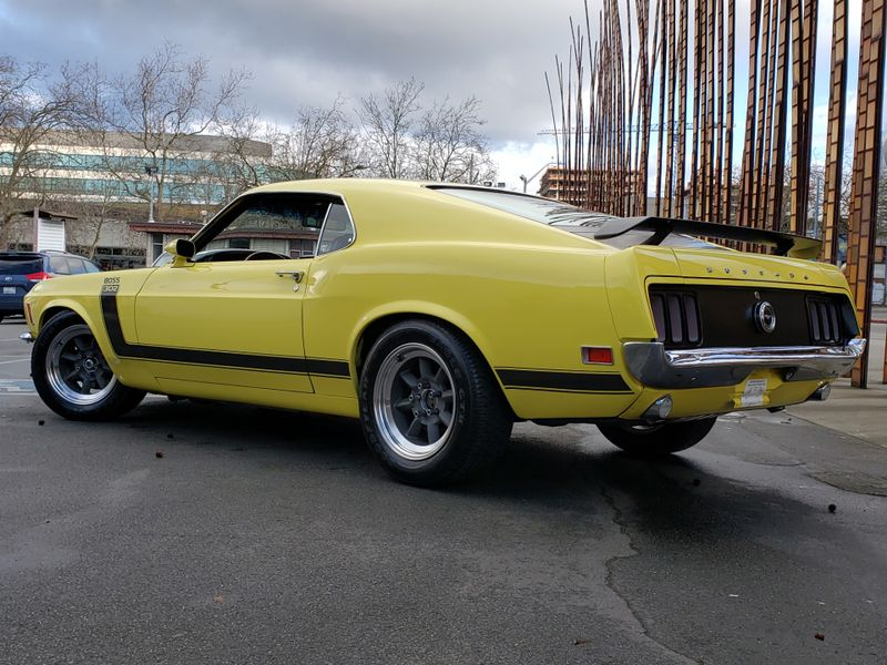 1970 Ford Mustang Boss 302 Fastback G-Code Rotisserie Restoration Parnelli Jones Autograph  city Washington  Complete Automotive  in Seattle, Washington