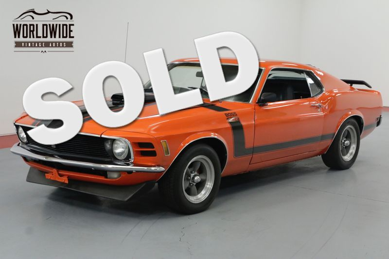 1970 Ford MUSTANG FASTBACK! RESTORED. BOSS 302 CLONE! V8 AUTO. | Denver, CO | Worldwide Vintage Autos