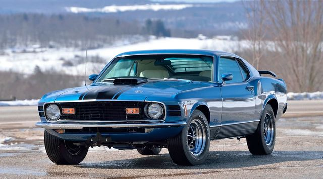 "1970 Ford Mustang Mach 1 ""R"" Code CJ 428"