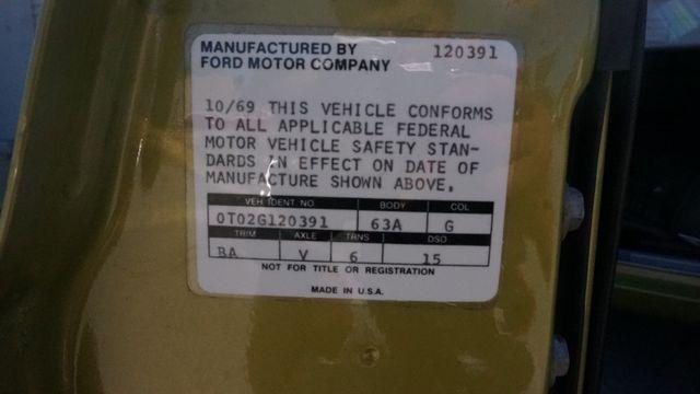 1970 Ford MUSTANG BOSS302 Valley Park, Missouri 17
