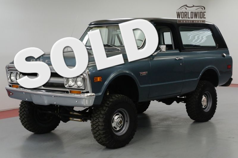 1970 GMC JIMMY HIGH DOLLAR RESTORATION. 1500 MILES! BLAZER | Denver, CO | Worldwide Vintage Autos