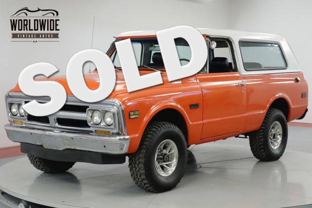 1970 GMC JIMMY RESTORED RARE FIRST YEAR PRODUCTION V8  | Denver, CO | Worldwide Vintage Autos in Denver CO
