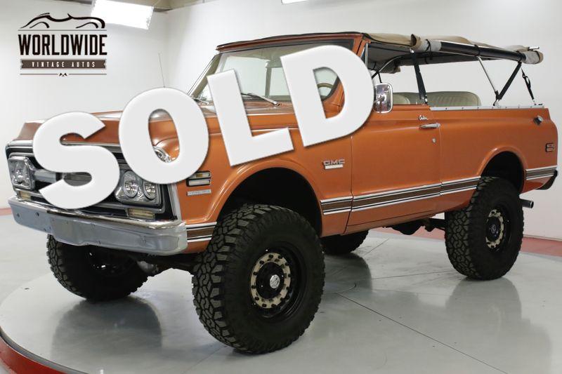 1970 GMC JIMMY RARE AZ TRUCK BIG BLOCK 454 AC V8 BLAZER  | Denver, CO | Worldwide Vintage Autos