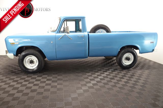 1970 International 1200D 4X4 87K ORIGINAL PS PB