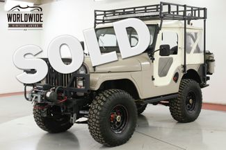1970 Jeep CJ5 RESTORED CUSTOM WINCH 4X4 RACK CUSTOM BUMPER | Denver, CO | Worldwide Vintage Autos in Denver CO