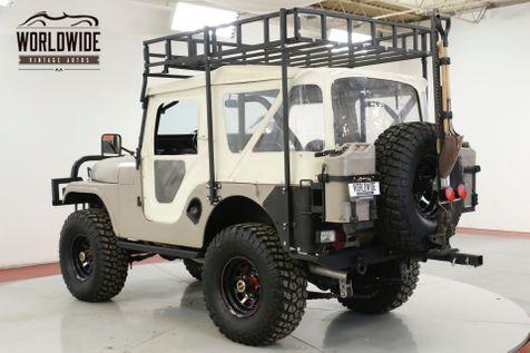 1970 Jeep CJ5 RESTORED CUSTOM WINCH 4X4 RACK CUSTOM BUMPER | Denver, CO | Worldwide Vintage Autos in Denver, CO